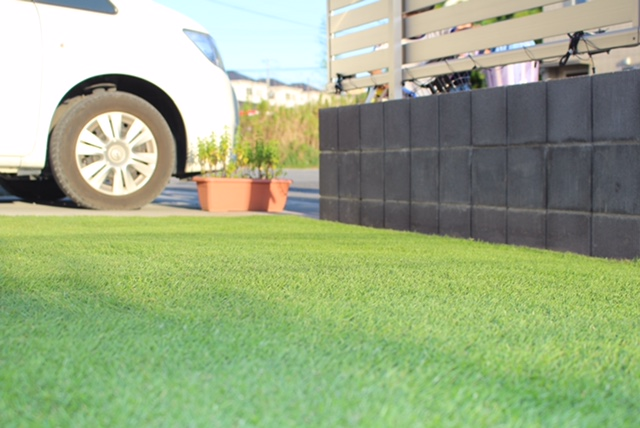 冬場も緑の芝生の為に秋から動く オーバーシーディング