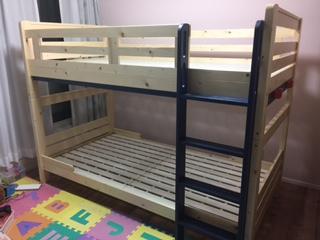 子供部屋に2段ベッドを思い切って買ってみた