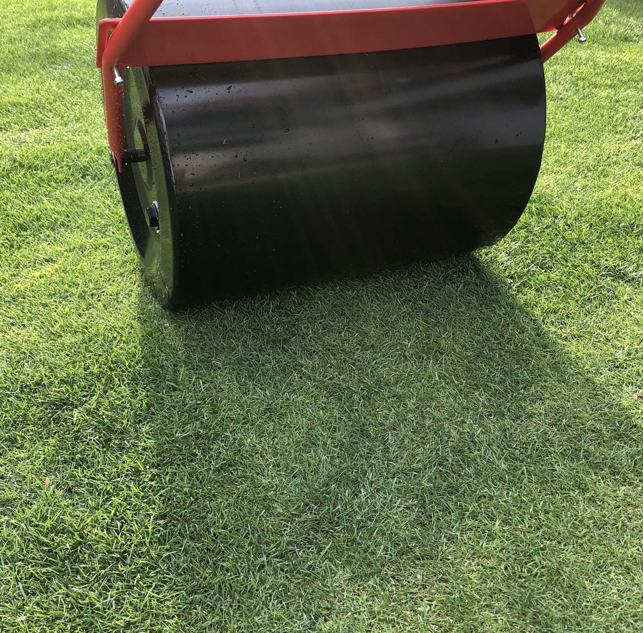 庭、芝生の凸凹が修正されてきた。憎めない道具をご紹介